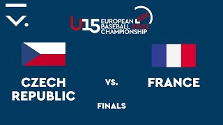U15 European Championship 2021 finals - Czech Republic vs. France