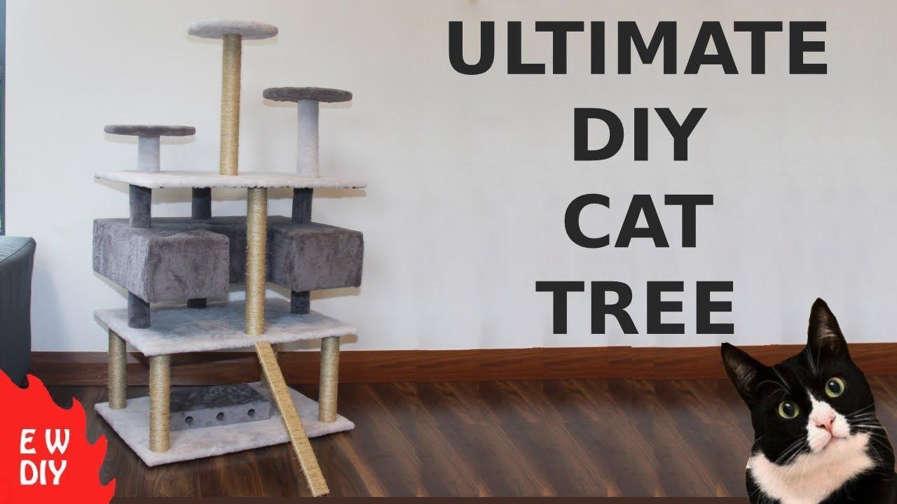 Ultimate Diy Cat Tree