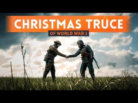 ► THE CHRISTMAS TRUCE OF WORLD WAR 1!  Battlefield 1