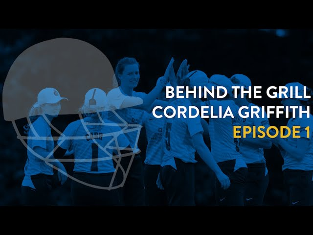BEHIND THE GRILL - CORDELIA GRIFFITH