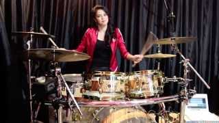 Animals - Maroon 5 (Drum Cover) - Rani Ramadhany ft. Handy Salim