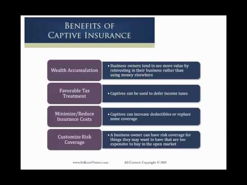 Benefits of Captive Insurance For Your Business