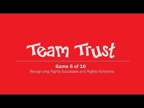 Today We Play: TEAM TRUST Instructional Video