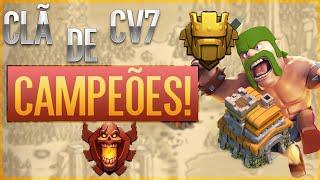 Clã de cv7 campeões | Clash of Clans