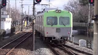 上毛電鉄中央前橋駅を発着する700型電車 2019.1.26