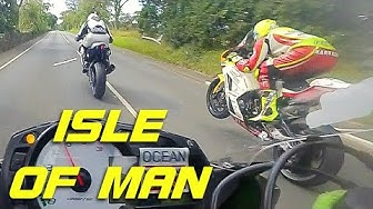 LAST⚡️ LAP , ISLE OF MAN , MANX GRAND PRIX 2019