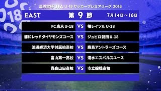 EAST 第9節 ダイジェスト【高円宮杯 JFA U-18サッカープレミアリーグ 2018】