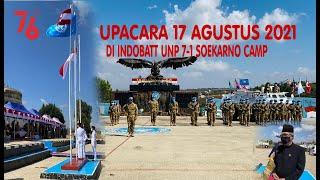 DUBES RI BEIRUT MENJADI INSPEKTUR UPACARA 17 AGUSTUS 2021 DI INDOBATT UNP 7-1