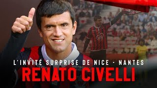 Renato Civelli en visite à l'OGC Nice
