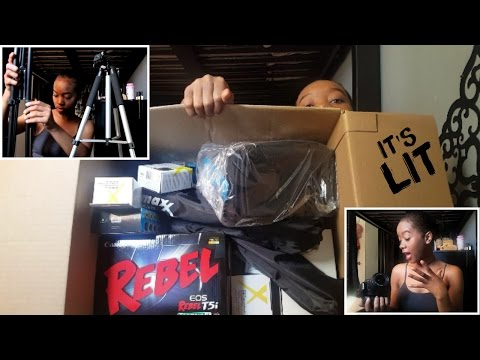 IN-DEPTH Canon Rebel T5i Bundle Unboxing & Test | QUALITY GONNA BE A1