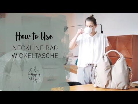 Wickeltasche | Neckline Bag | How to Use | LÄSSIG