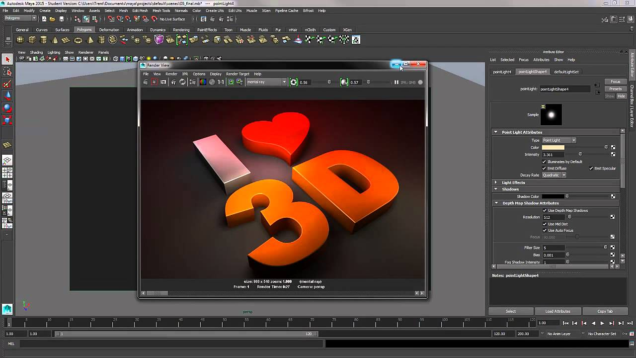 3d Logo Design Using Autodesk Maya Youtube