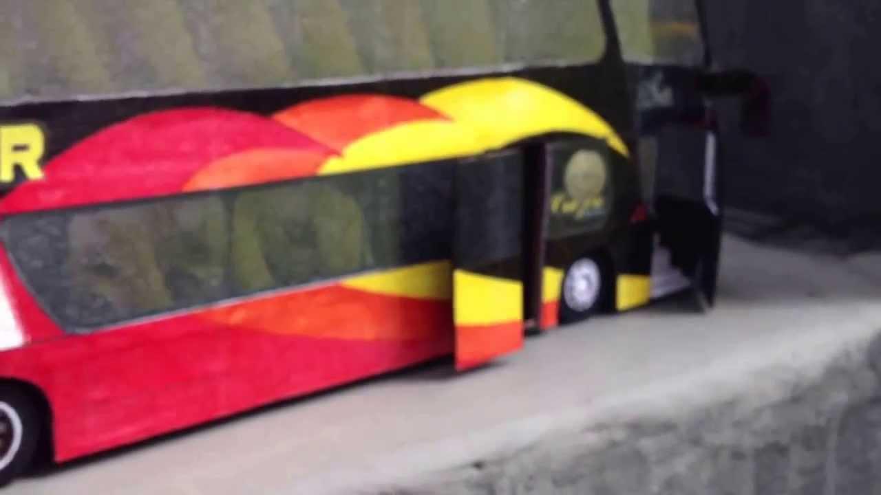 Bien connu Expreso CRUZ DEL SUR / Buses De Carton [Xstravtäs.PERÚ] - YouTube RR46
