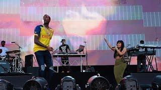 Meek Mill And Nicki Minaj Perform All Eyes On You Live @ Made In America 2015