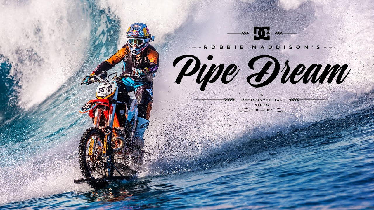 "DC SHOES: ROBBIE MADDISON'S ""PIPE DREAM"""