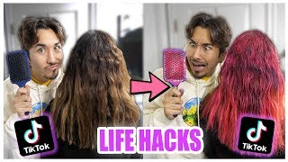 Download We TESTED Viral TikTok Life Hacks.... (UNBELIEVABLE) *PART 3* Mp3 and Videos