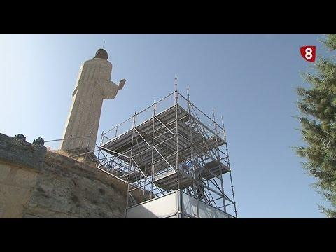 El Cristo del Otero estrena una pasarela-mirador