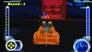 Hot Wheels Velocity X Maximum Justice (PS2) - Underworld Arena Battle