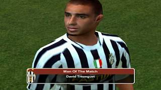 PC Retro FIFA 2004 Juventus x Chelsea gameplay
