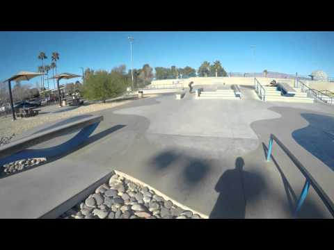 Kanaihawaii sweet longboard skatepark run