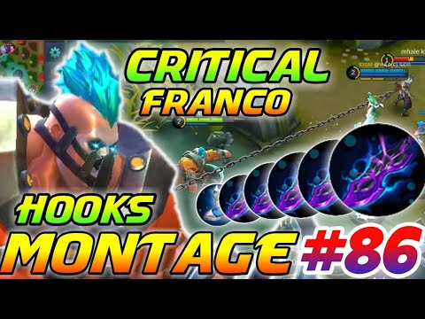CRITICAL FRANCO HOOKS MONTAGE #86 | GamEnTrix | MOBILE LEGENDS
