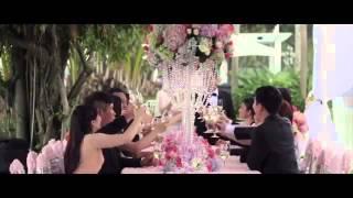 Свадьба на природе в бело-розовых тонах