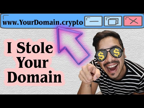 Claim Your .Crypto Blockchain Domain From Unstoppable Domains Before I Do!