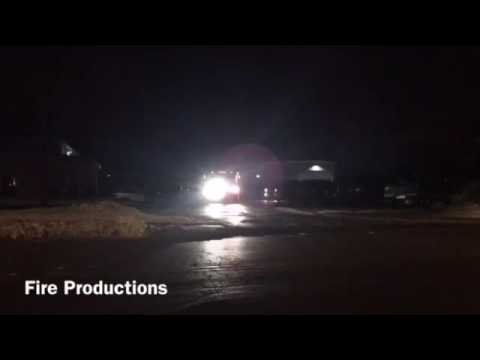 Jackson tanker 1291 responding to Germantown structure fire