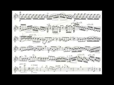 Millies, Hans M.  Concertino in Mozart style for violin + piano