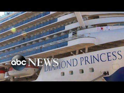 Plane evacuating Americans from Diamond Princess cruise ship denied permission to land l ABC News
