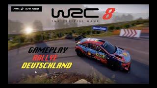 WRC 8 Rallye Deutschland GAMEPLAY (+ REPLAY)