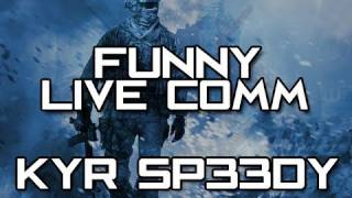 Funny Live Commentary - Hilarious Game Chat - KYR SP33DY