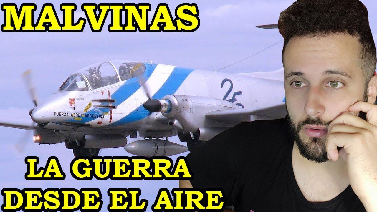 Español REACCIONA a MALVINAS - LA GUERRA DESDE EL AIRE #1