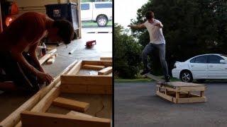 Evolution Of A Skate Box!