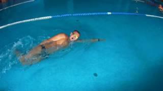Как научится плавать баттерфляем за 6 занятий. Урок 2