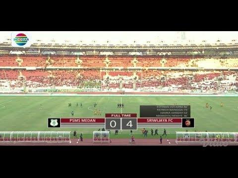 PSMS Medan (0) vs Sriwijaya FC (4) - Highlight Final Juara 3 Piala Presiden 2018