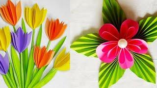 Origami easy paper flowers/Handmade Paper Flower