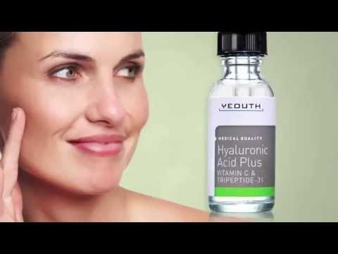 Vitamin C Serum YEOUTH Hyaluronic Acid Plus Vitamin C Serum Benefits