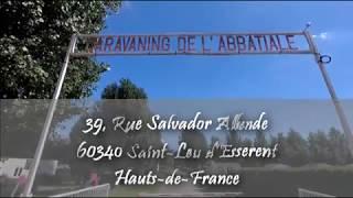 Domaine du Camping de l'Abbatiale à Saint-Leu d'Esserent
