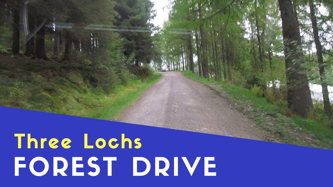 A Drive Along The Three Lochs Forest Drive | Scottish Highlands and Islands  2018 Extra