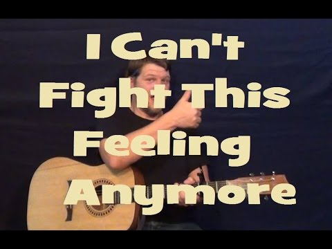 I Cant Fight This Feeling Anymore Reo Speedwagon Easy Guitar