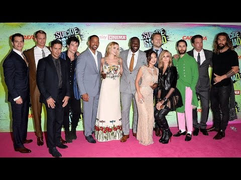 Ben Affleck and His 'Justice League' Costars Crash the 'Suicide Squad' Premiere in London