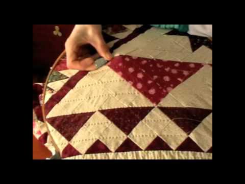 Acolchado a mano youtube - Tecnicas de patchwork a mano ...