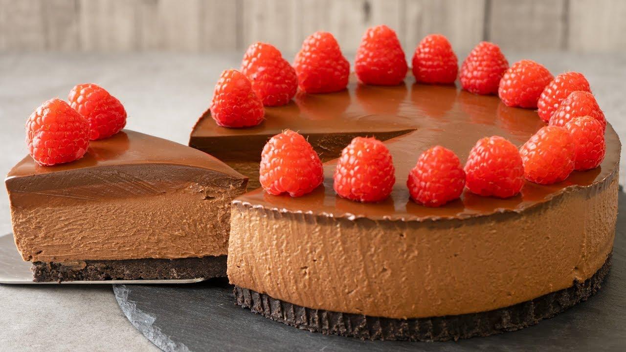 No Bake Chocolate Cheesecake El Mundo Eats