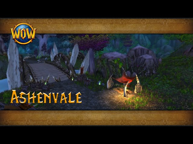Ashenvale Ambience Azeroth World Tour