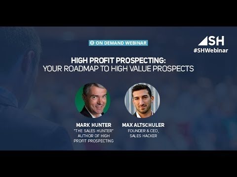 High Profit Prospecting   Your Roadmap to High Value Prospects