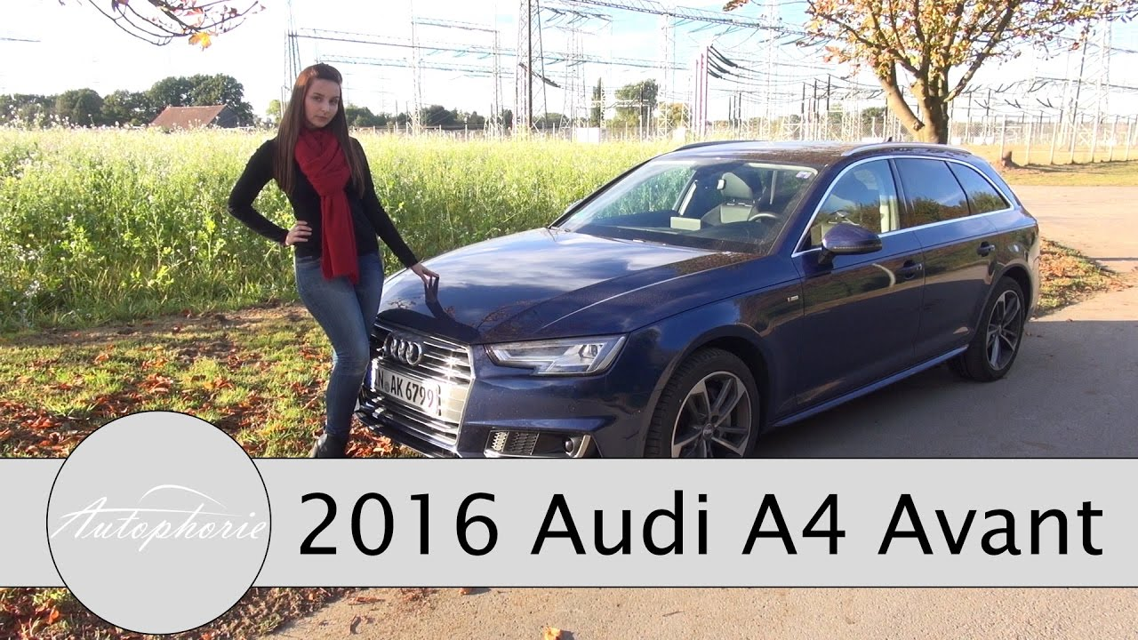 2016 Audi A4 Avant 20 Tdi Quattro 190 Ps Test Fahrbericht