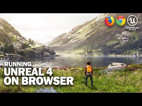Unreal Engine 4 On Web Browser Is AMAZING!