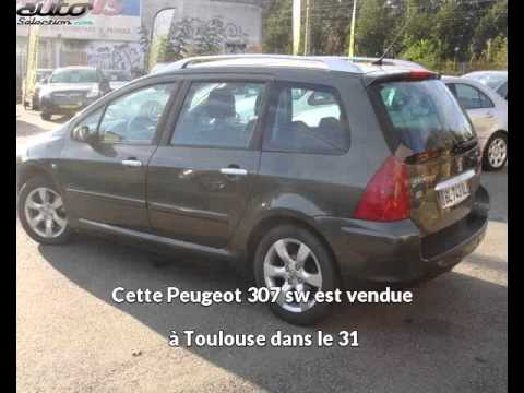 peugeot 307 sw occasion visible toulouse pr sent e par automobiles regis guillard youtube. Black Bedroom Furniture Sets. Home Design Ideas