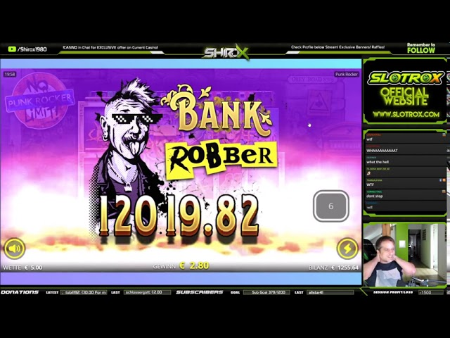 Punk Rocker INSANE MEGA BIG WIN Nolimit City
